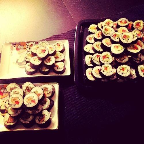 Sushi Homemade Polishgirl Pycha