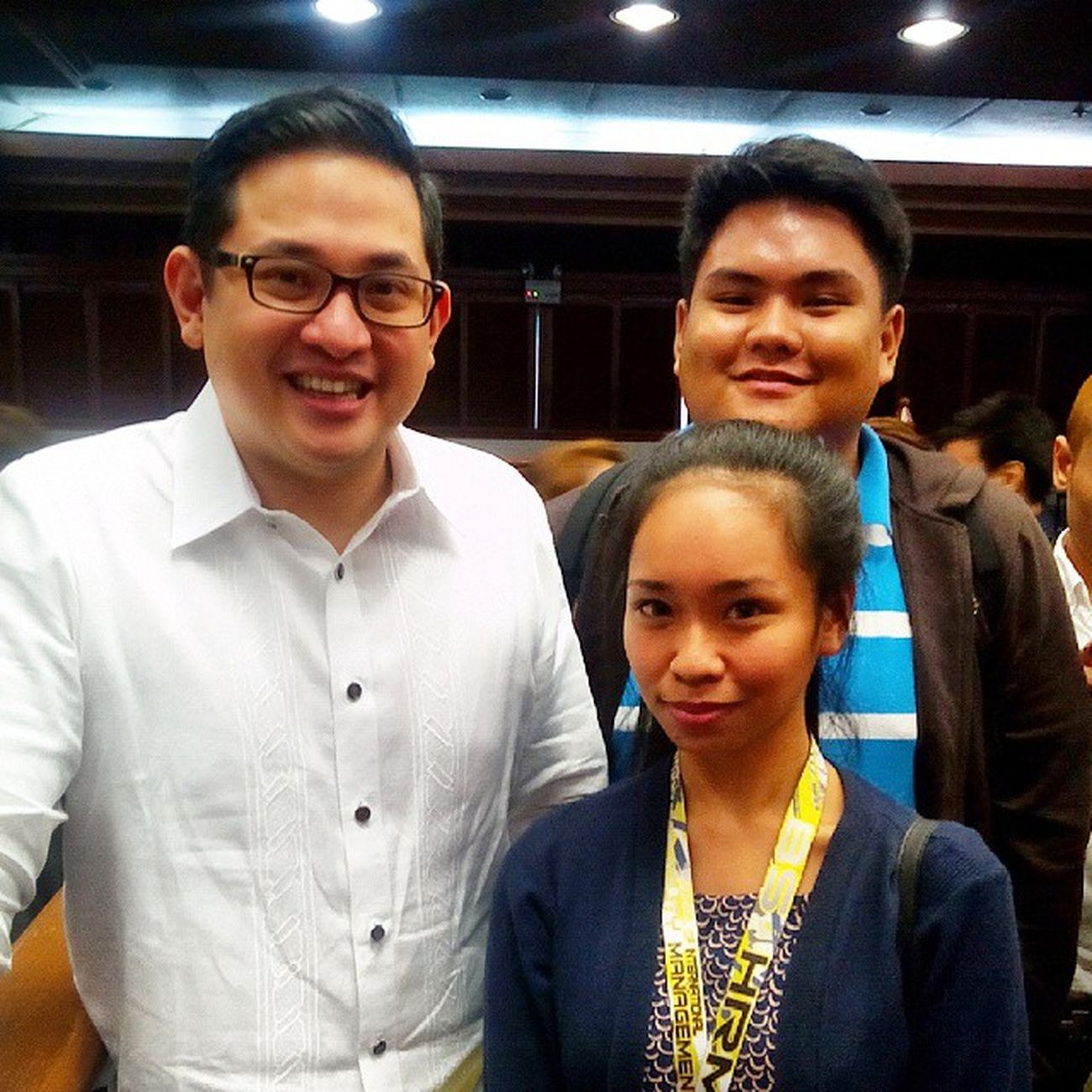 thank god for this opportunity. with Senator Bam Aquino. Perksofbeingasscofficer