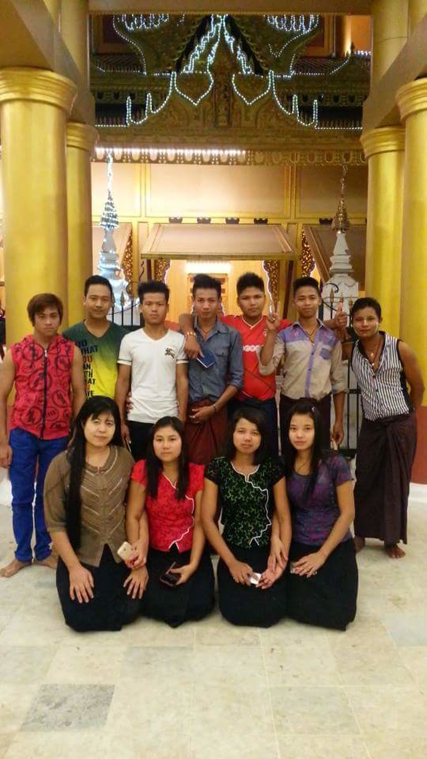 full length, men, young men, women, young women, young adult, standing, togetherness, looking at camera, music, portrait, medium group of people, arts culture and entertainment, adult, front view, leisure activity, sitting, indoors, people, smiling, musician, senior men, senior adult, day, adults only