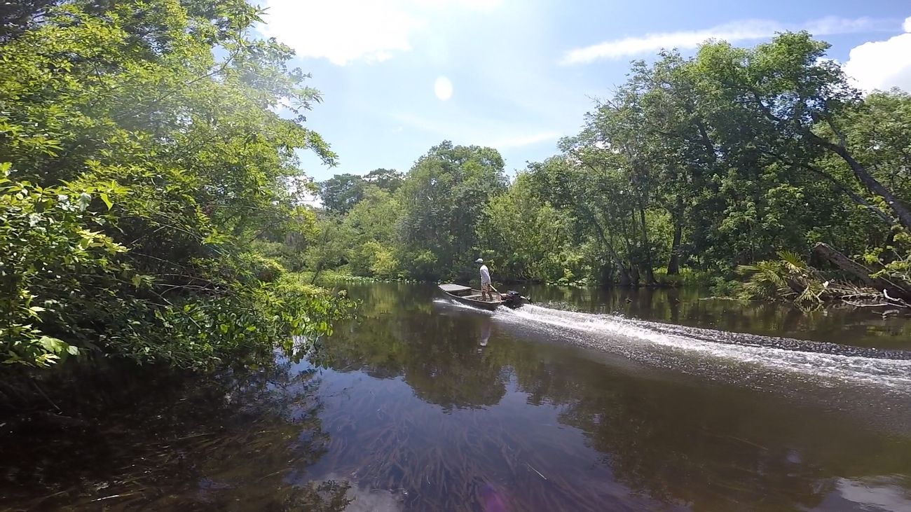 The Great Outdoors - 2016 EyeEm Awards Gopro Wekiva River Mercury Jon Boat
