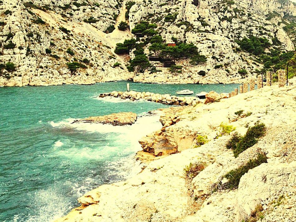 Calenque Calenques France Morgiou Landscape Marseille