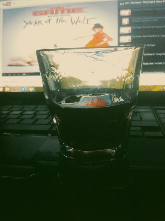 Listening TheGame Drinking Jägermeister Home Tirana Albania my bitch,stay with me forever