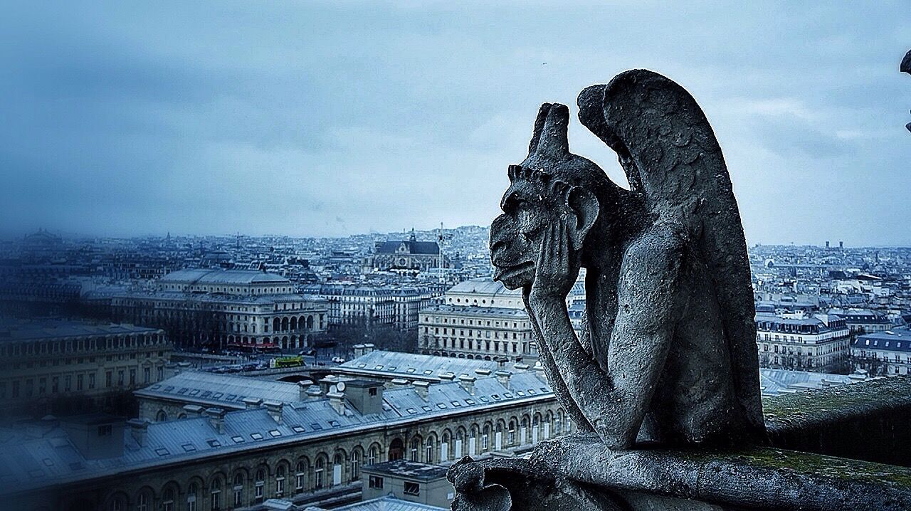 Notre-Dame Paris Building Art Architecture