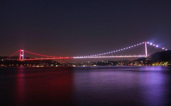 Bridge Istanbul Nightphotography