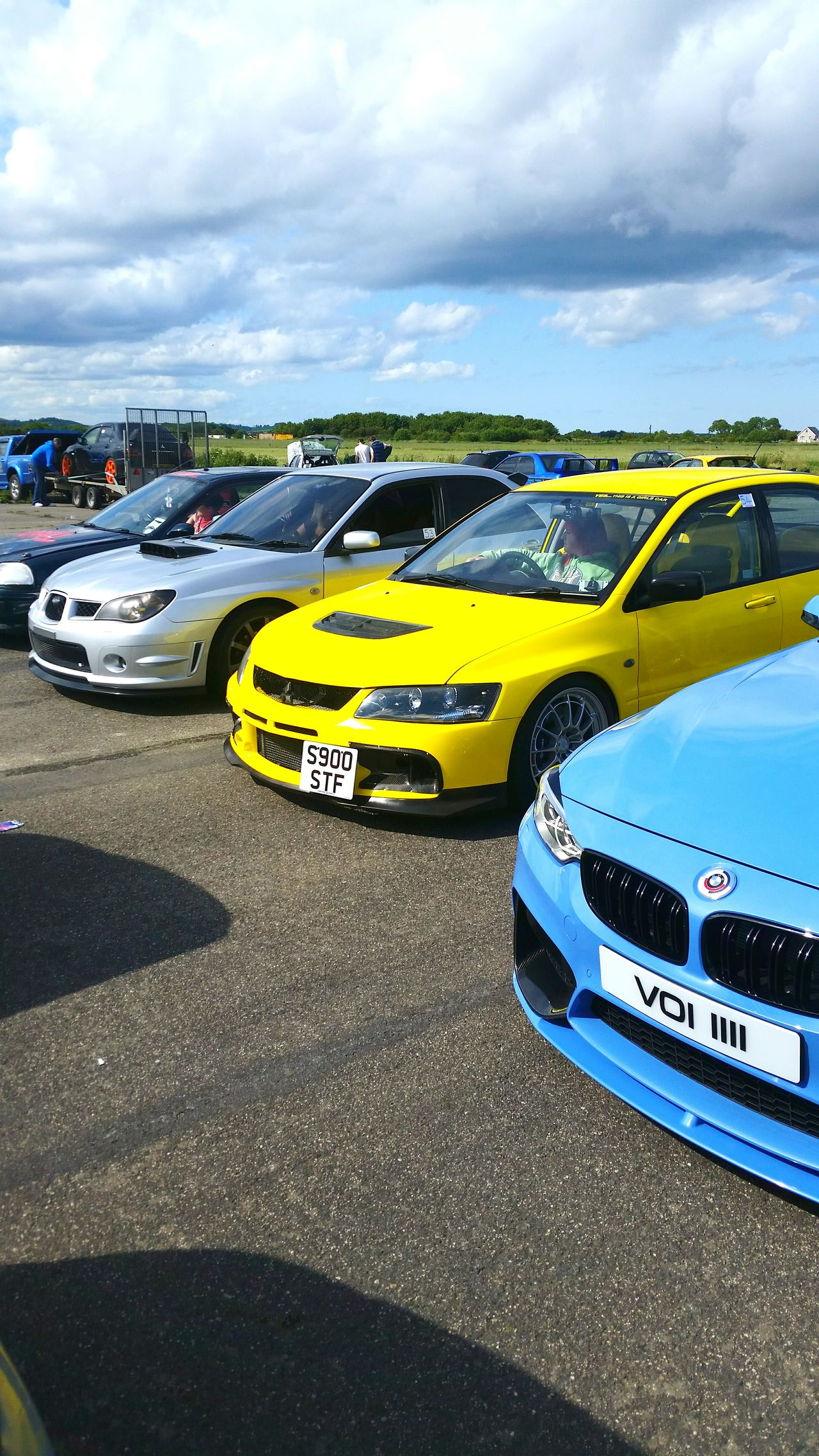 Properly yellow evo. Fastcar Evo Mitsubishi Evo BHP ❤ Subarulove First Eyeem Photo