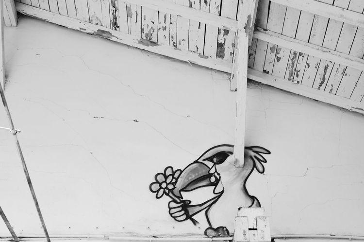 Architecture No People Sketch Graffiti Graffiti Art Urbexphotography Blackandwhite