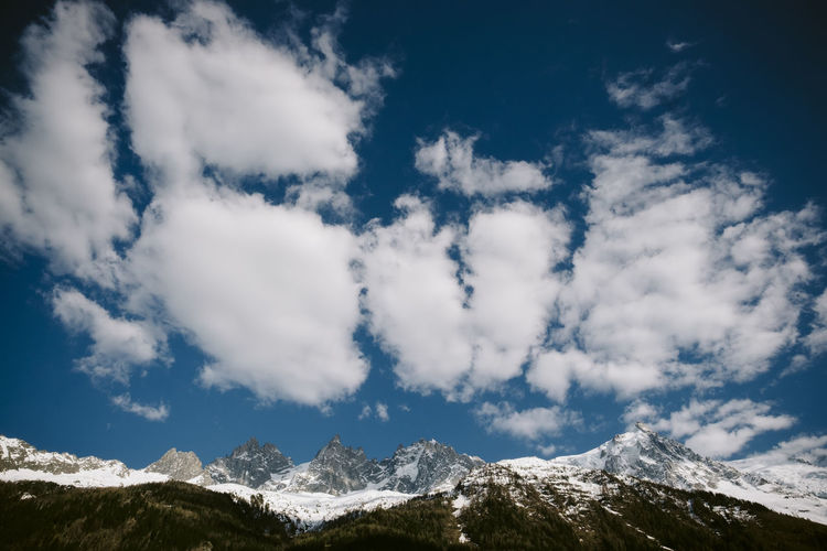 Alps Big Clouds Blue And White Clouds Blue And White Sky Cloud Cloud - Sky Cloudy Landscape Mountain Range Mountain View Mountains And Clouds Mountains And Sky Nature Non-urban Scene