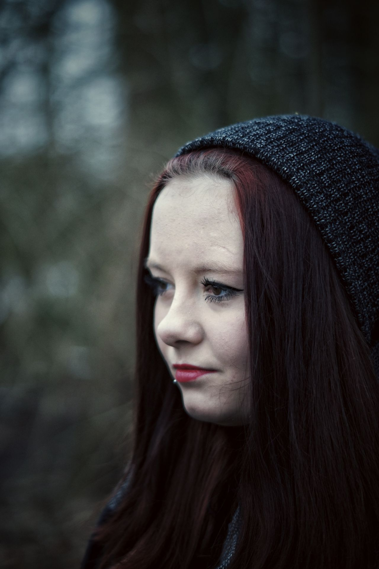 Alpha58 Sonya58 Bokeh Portrait Girl Girlfriend Sony A58 First Eyeem Photo Winter Trees Mysthical Shady Forest