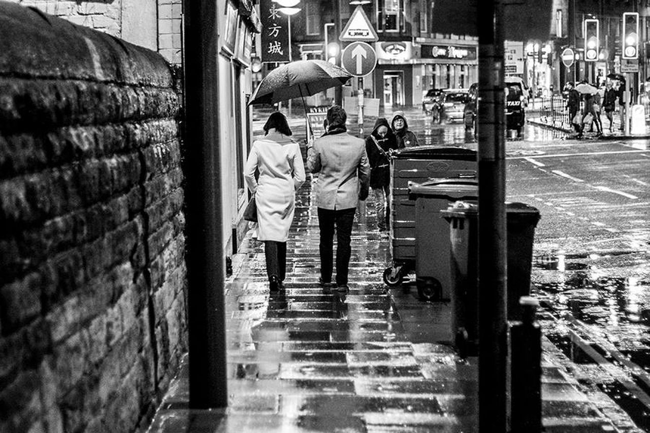 Edinburgh Street Photography Black & White TobiasPhotoArt