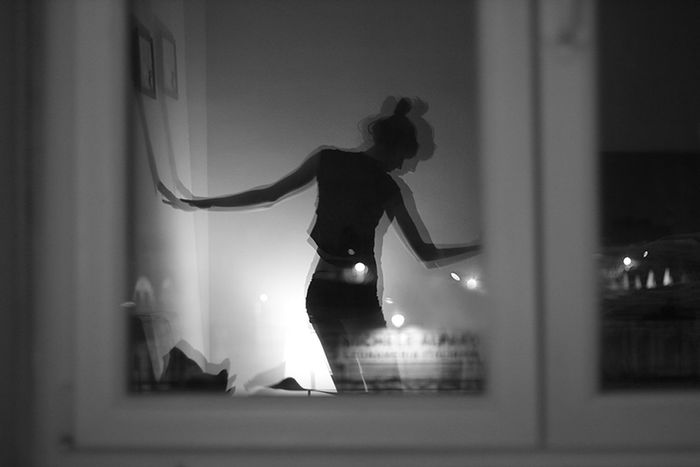 Self Portrait Ballerina Blackandwhite Photography Black & White Window Reflection Sararoot Ballett Dancing Dance Girl Nofilter The City Light