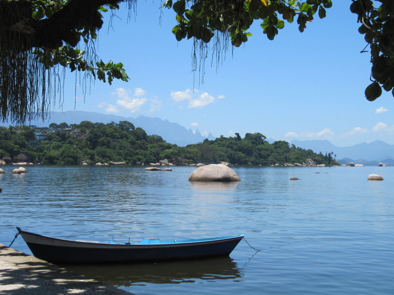 Baía De Guanabara Beauty In Nature Day Nature Nautical Vessel Outdoors Paquetá Island Rio De Janeiro Scenics Sea Tranquil Scene Tranquility Tree Water