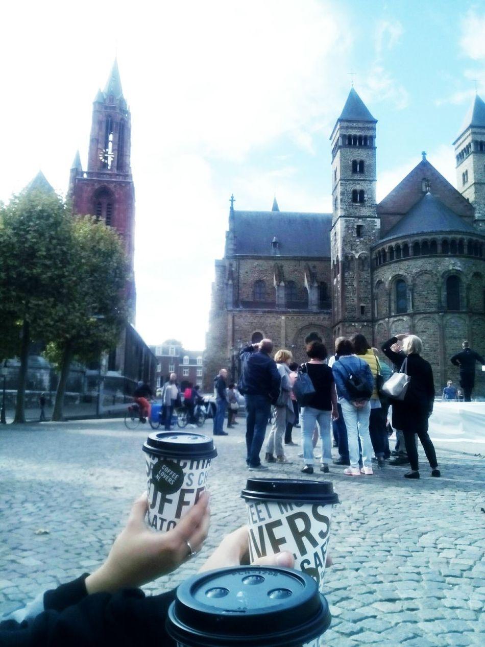 Masstricht Coffee ☕ Friends ❤ Boyfriend❤ Freetime 👌 Photo♡ By Me 👆 Relax :)