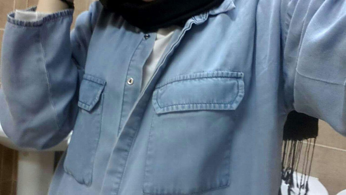 Blue Mavi Siyah Gömlek