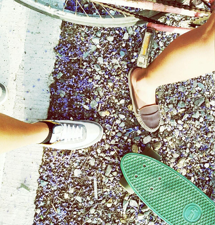 Outdoors Togetherness Friendship Starting A Trip Skateboarding Skatelife Skater Girl
