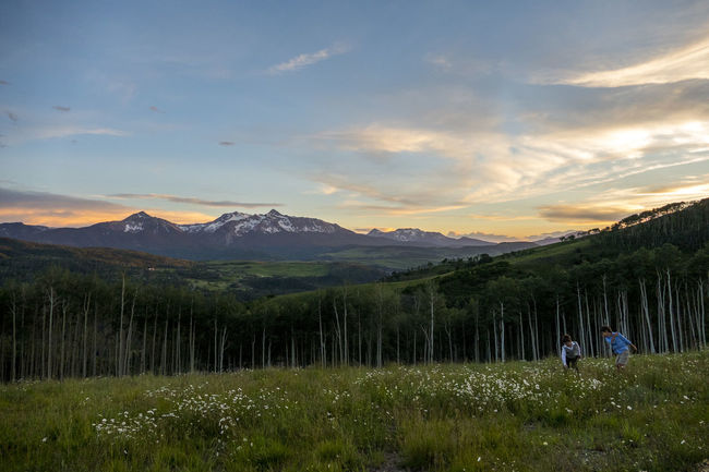 Beauty In Nature Colorado Countryside Exploring Fog Hill Horizon Over Land Landscape Majestic Mountain Mountain Range Nature Non-urban Scene Outdoors Physical Geography Remote Scenics Sky Telluride Tranquil Scene Tranquility Summer Summer Views Mountain Peak