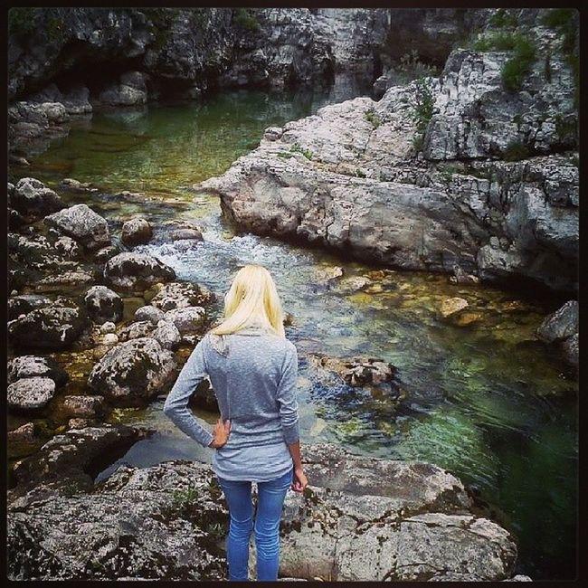 Pria Astico Trote Bionda paradiso relax verde instapic picoftheday landscape river green sub