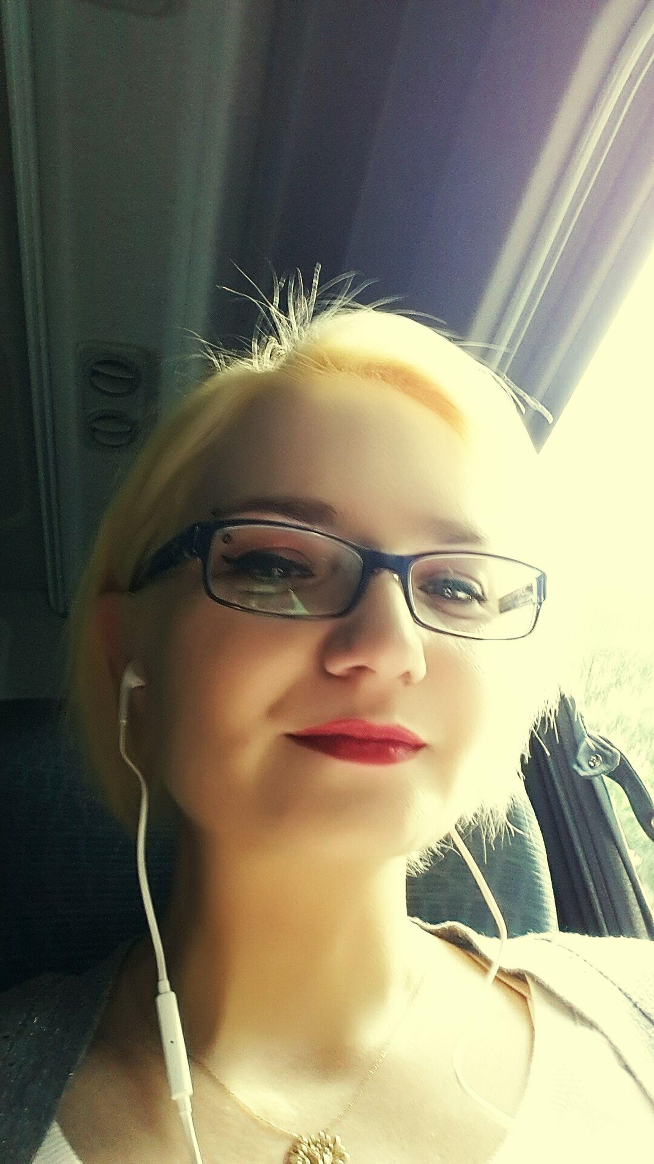 That's Me Working Way On My Way To Work Selfie Sun Yellow Gözlüklerimrayban Music ı Love Rock