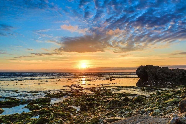 Sea Sunset Nature Enjoying The Sun