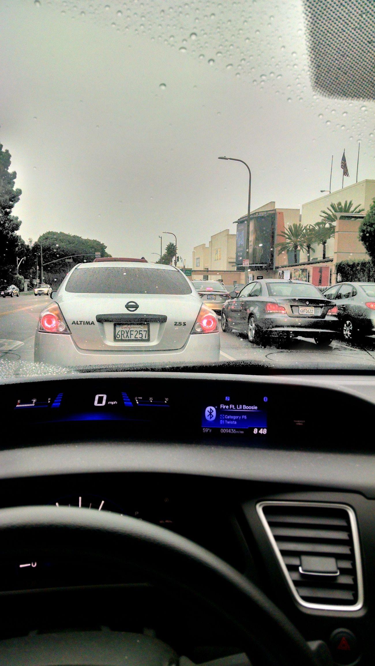 Fox Studios Westla Wrk Flow Rainy Days in West Los Angeles... On my way to work...
