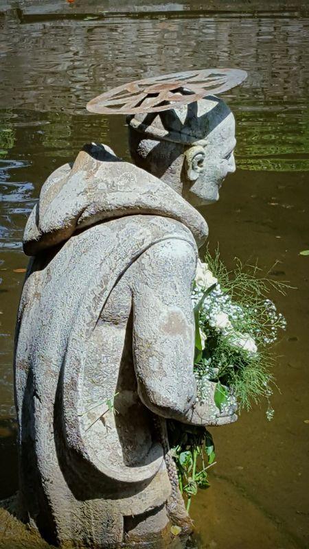 Serra san Bruno Water Sculpture Outdoors Statue Serra San Bruno Italy