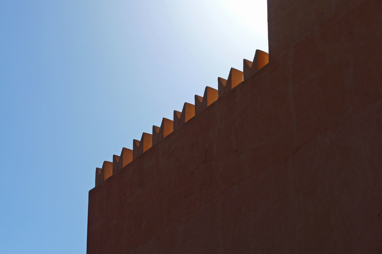 Architecture Balcony Built Structure Day Merlon No People Siculiana Wall - Building Feature