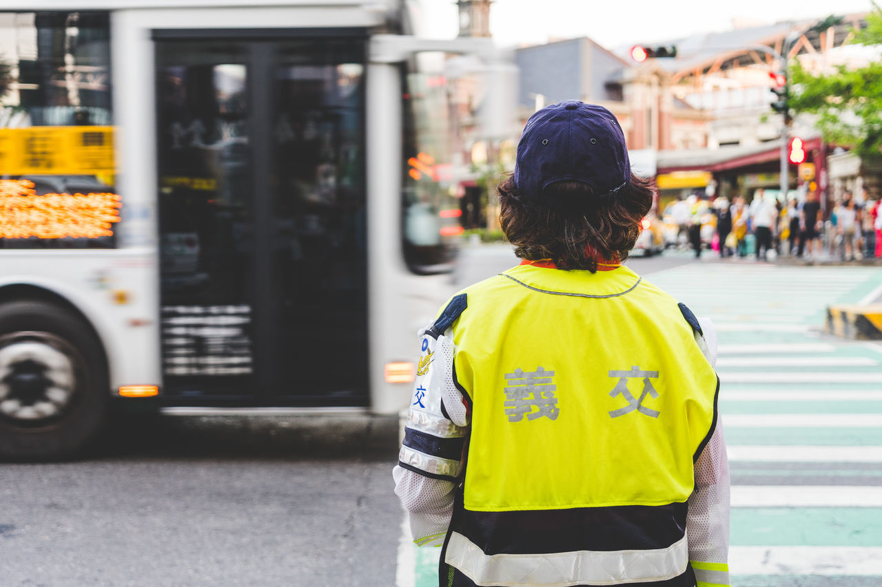 City Lady One Person Outdoors People Police Real People Reflective Clothing Standing Taiwan Traffic Traffic Police  Uniform Women Yellow First Eyeem Photo EyeEmNewHere