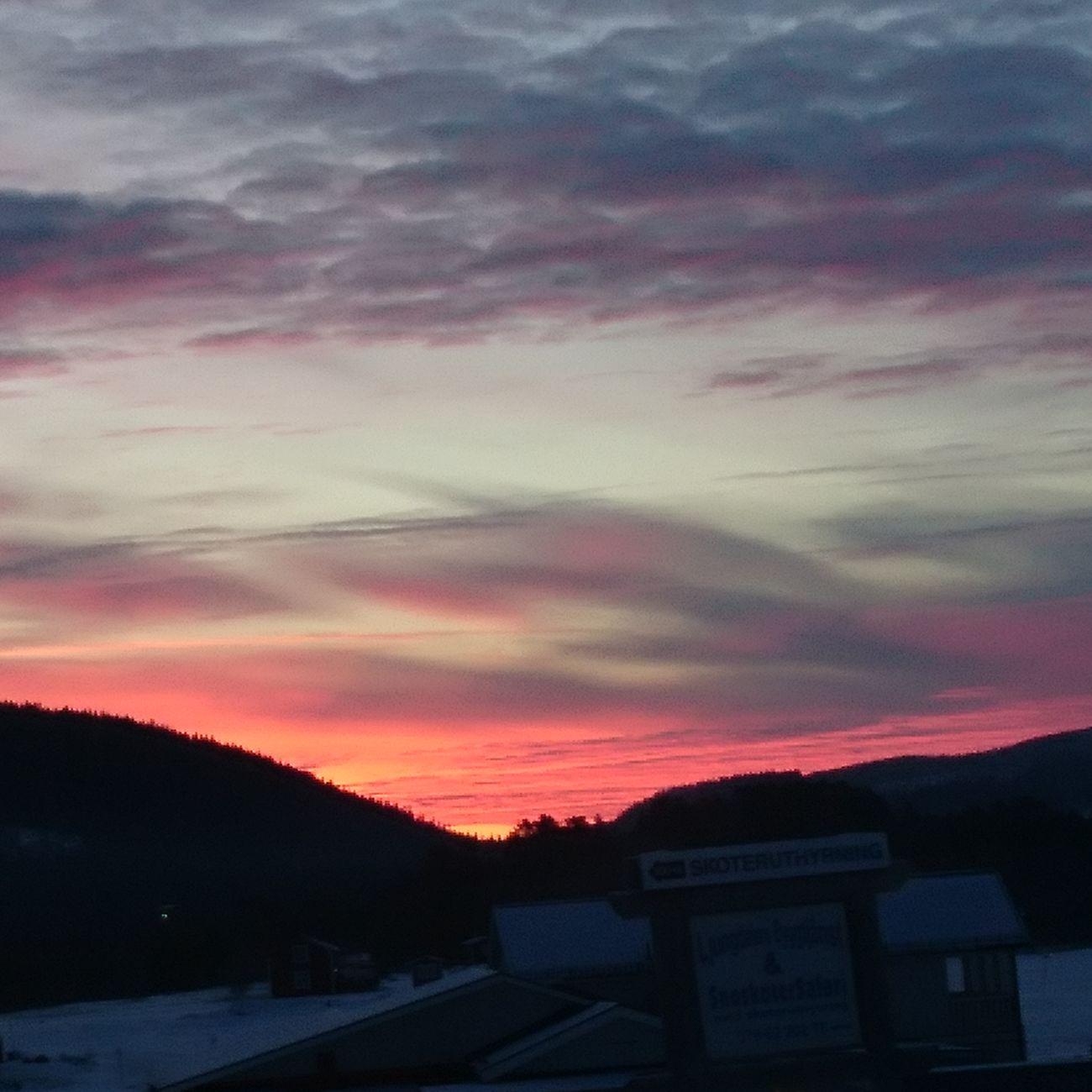 Sunrise Cloud - Sky Winter Cold Temperature Dramatic Sky Morning Sky Nature Morning