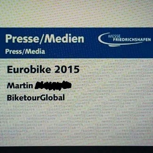 Ready for Eurobike2015 ! I will be there on the 28th and 29th. Hopefully enough time to see it all. Stay tuned for some pics here live from the Eurobike. Anyone there as well? Biketouring Cycling Fahrrad Eurobike Friedrichshafen Travelbike Reiserad Bikelove Messe 😚