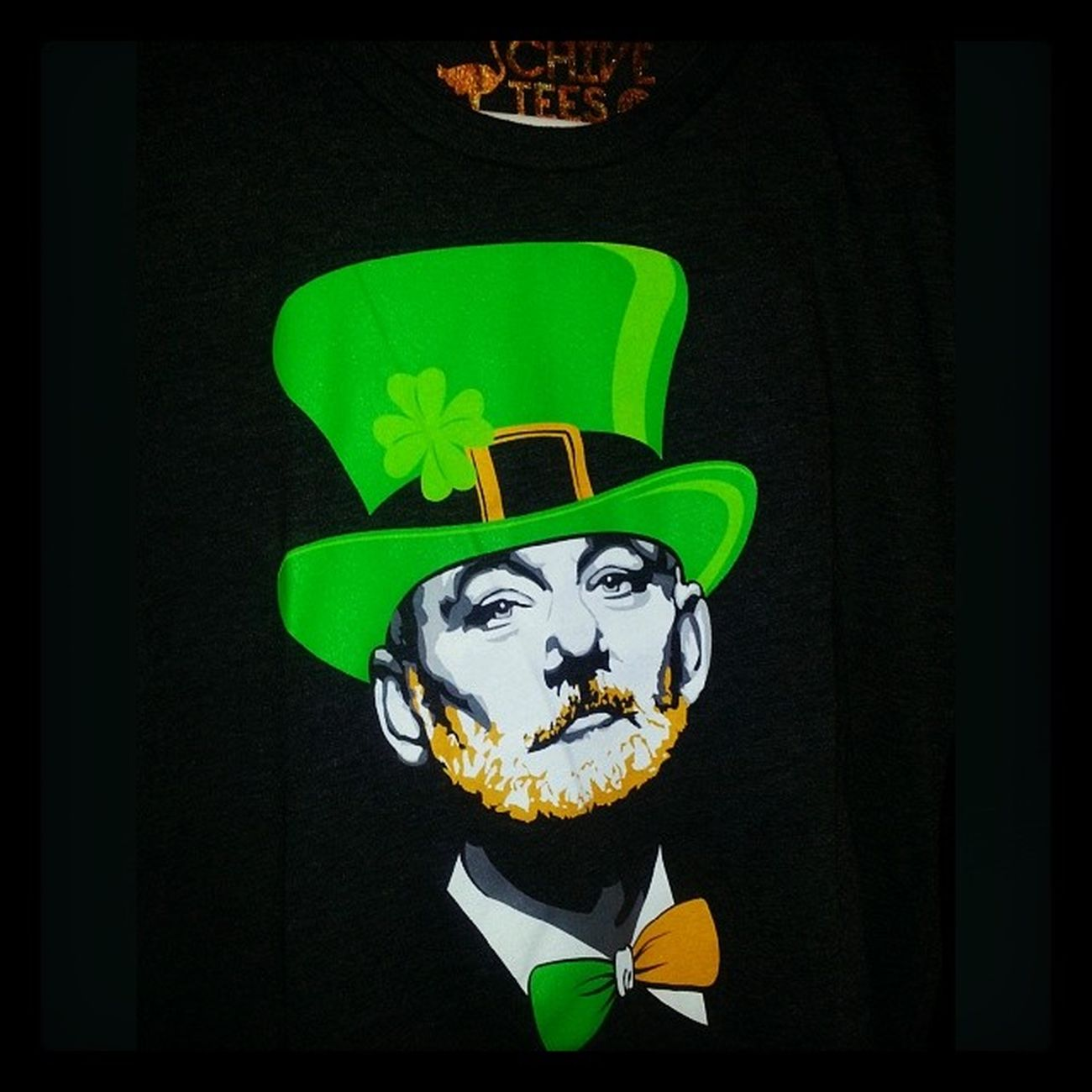 Perfect shirt for today? Thechive Chiveoncharleston Billomurray Stpats