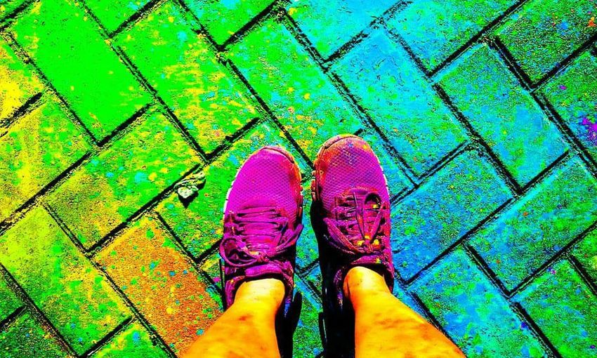 Be willing to step outside your comfort zone once in a while; Take the risks in life that seem worth taking. The run might not be as predictable if you'd just planted your feet and stayed put, but it will be a heck of a lot more interesting... The Bestwaytostarttheyear Starttheyearright ColorManilaRun 2016 ColorManilaRun2016 Colorcarnival