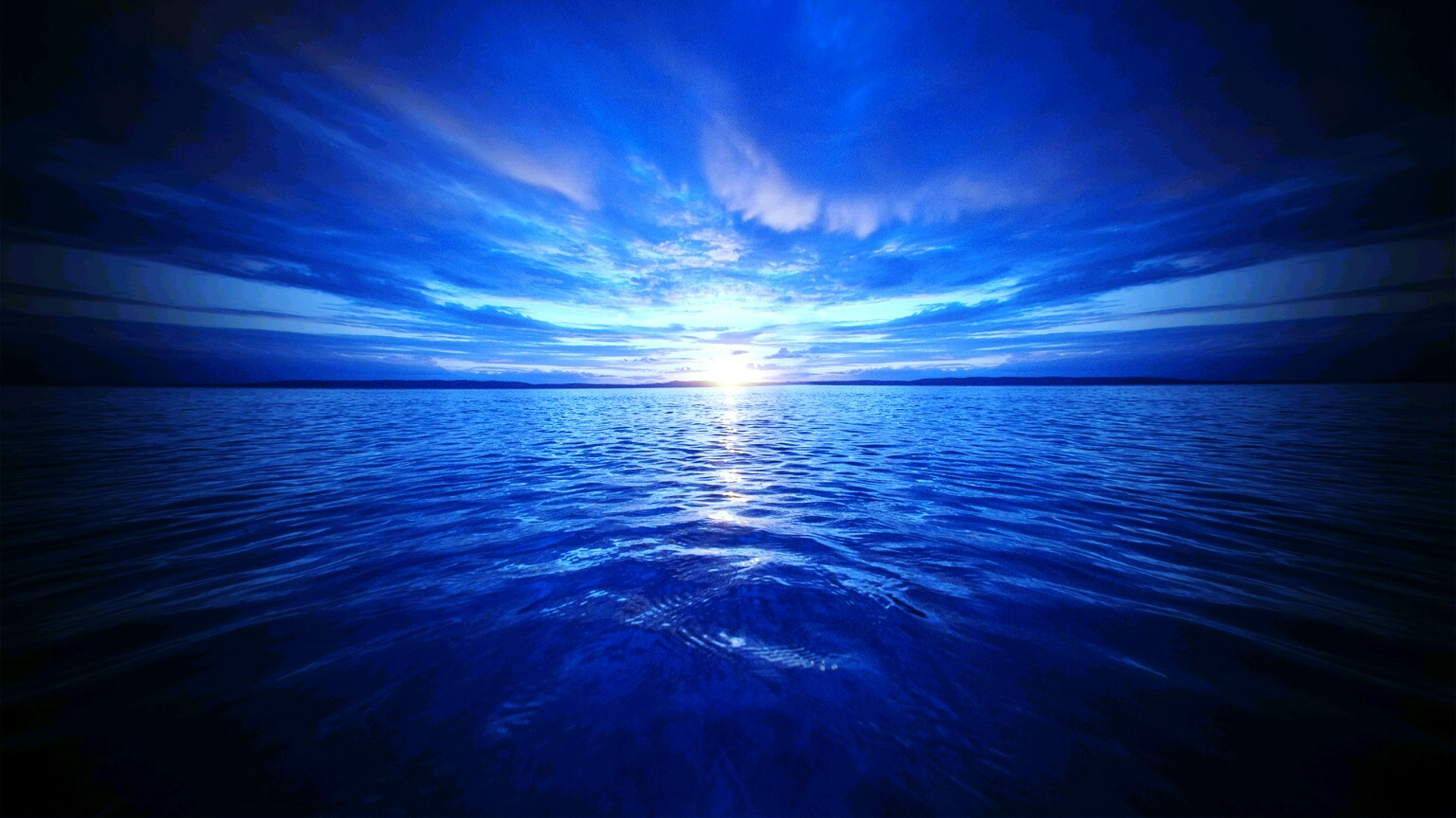 water, sea, scenics, sky, tranquil scene, beauty in nature, tranquility, waterfront, horizon over water, blue, nature, idyllic, reflection, cloud - sky, sunset, rippled, seascape, sunlight, cloud, sun