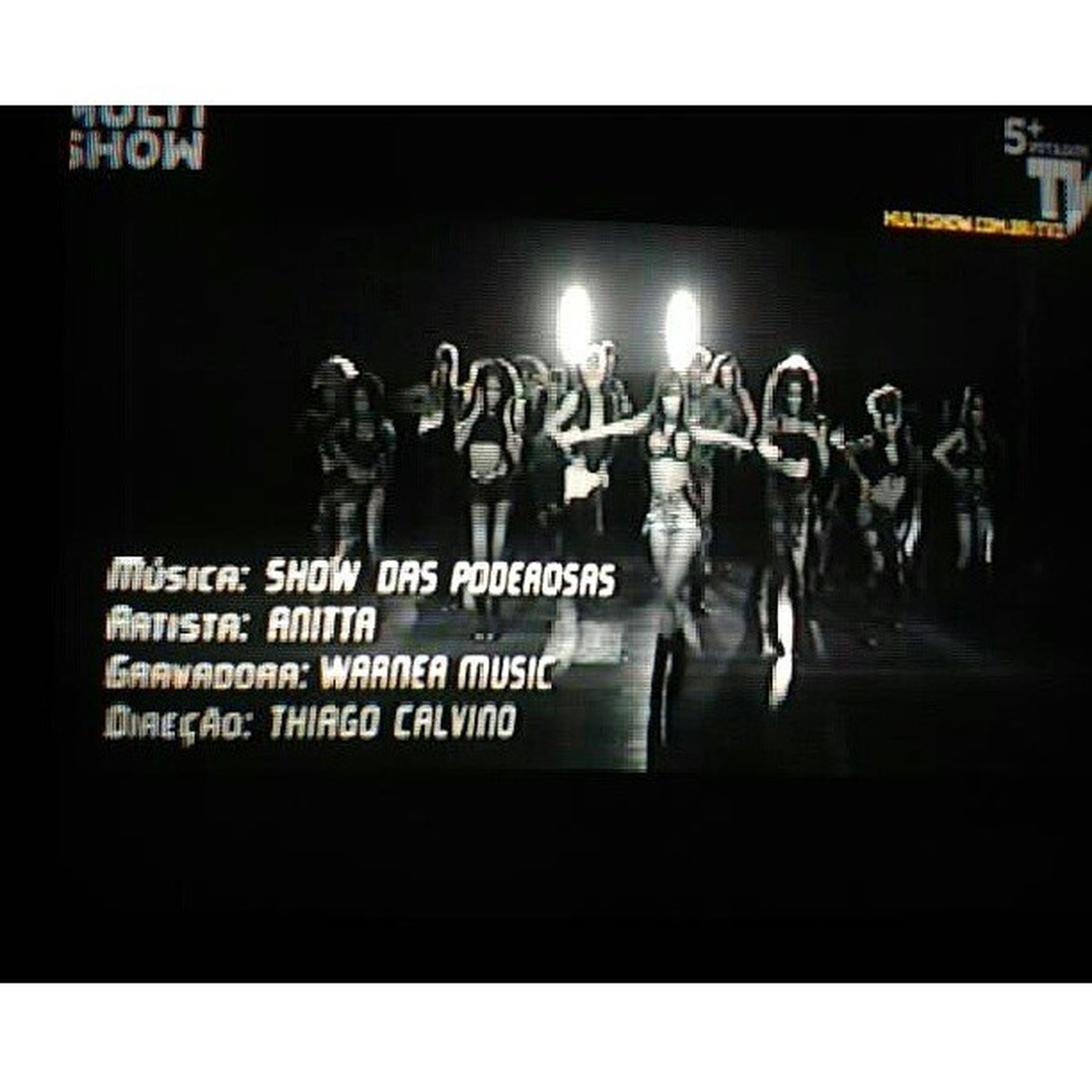 PRE PA RA Mcanitta Showdaspoderosas Prepara TVZ multishow sky