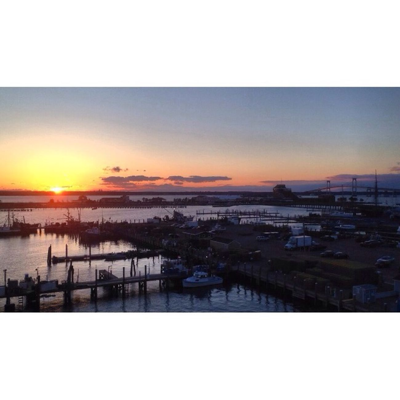 No Filter Rhode Island Sunset St Patrick's Day