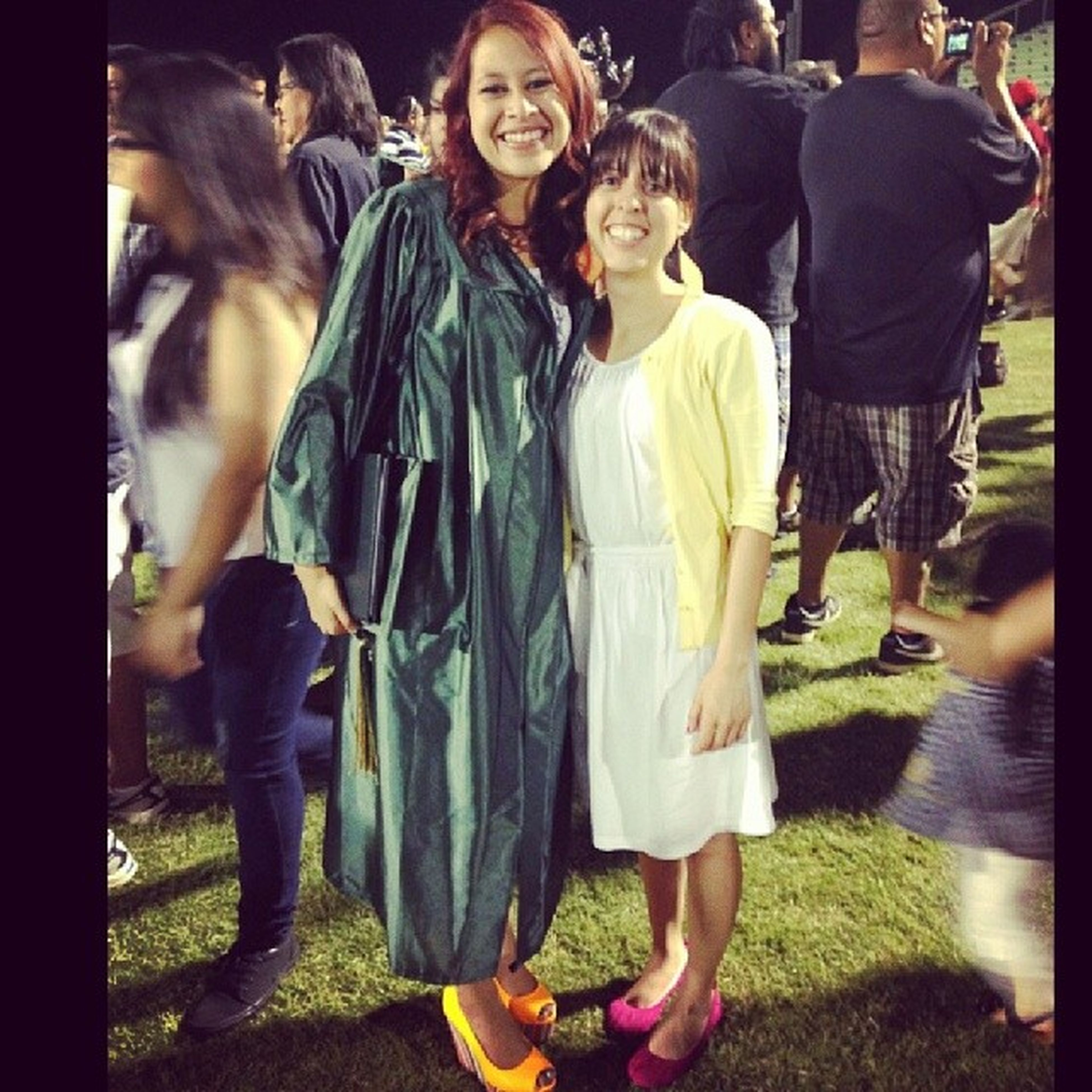 TBT  graduation, love my big sister. Thankfulforher