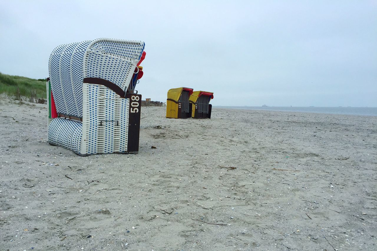 Inselfeelingpur Northsea Nordsee Nordsee Landscape Landscape_Collection Relaxing Beach Chairs Germany Insel Föhr Travel Photography Betriebsausflug Landscapes With WhiteWall