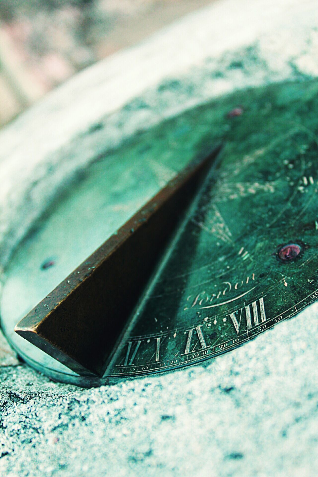 Sundial Time Compass History Through The Lens  Capturing History Watch The Clock
