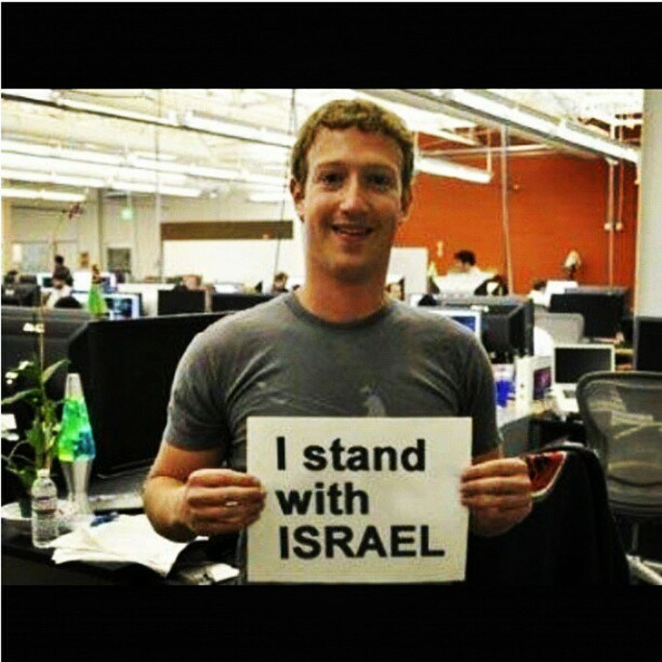Thank You Mark! Love x MarkTzukenberg Facebook Israel @standwithisrael @insta_news_il