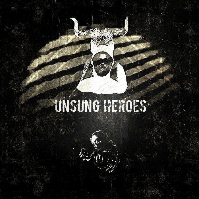 Album Cover Photoshop Album Artwork Band Graphic Design Graphics Album Graphic Unsung Heroes Unsungheroes Skull Nun Devil Demon