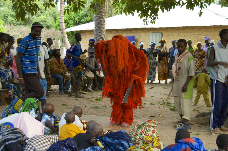 African circumcision ceremony when the boys come back as men out of the woods. In Niafrang, Senegal. African Circumcision Ceremony Niafarang Niafourang Niafrang Traditional Culture West Africa Africa African Ceremony Casamance Ceremony Circumcision Day Kankouran Kankourang Outdoors Traditional
