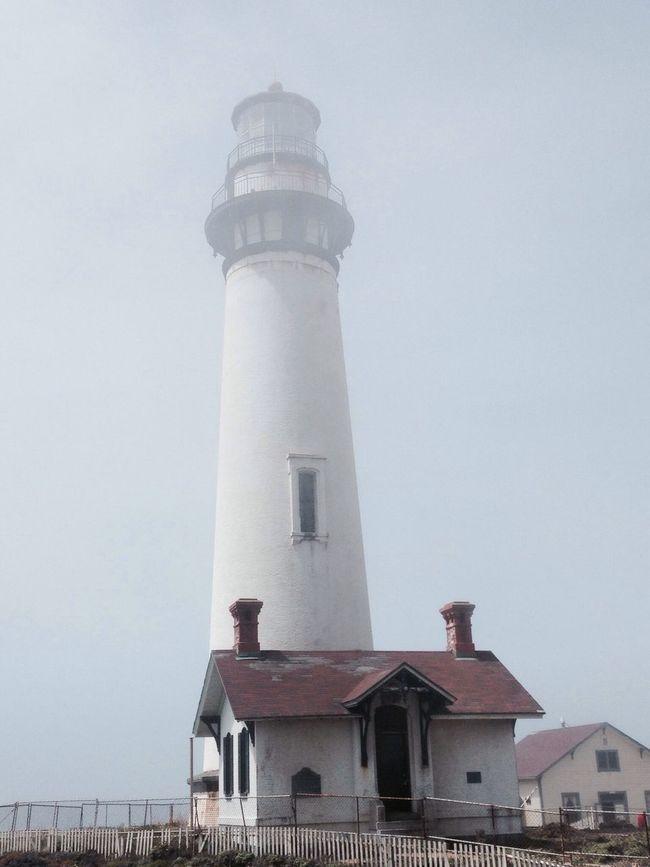 Pigeon Point  Light House Fog