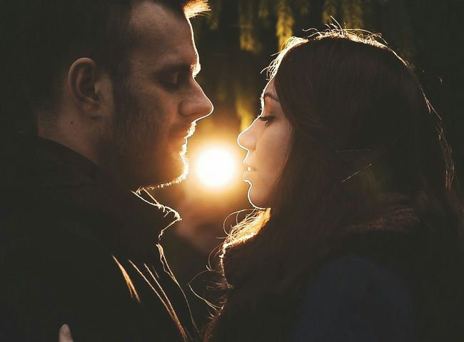 My bae and me Handsome Husband Pretty Me This Is Love💝 Magnificent Moments Warm Light Almost Kiss 😊