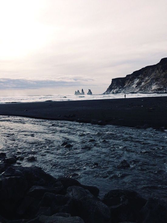 Iceland Beach Blacksandbeach Travel Travel Photography Traveling Vik Showcase June