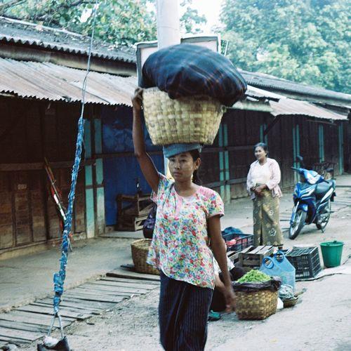 The Street Photographer - 2017 EyeEm Awards Real People Outdoors Iusefilm Ishootfilm 35mm Godak Portra 160 Lifestyles Myanmar
