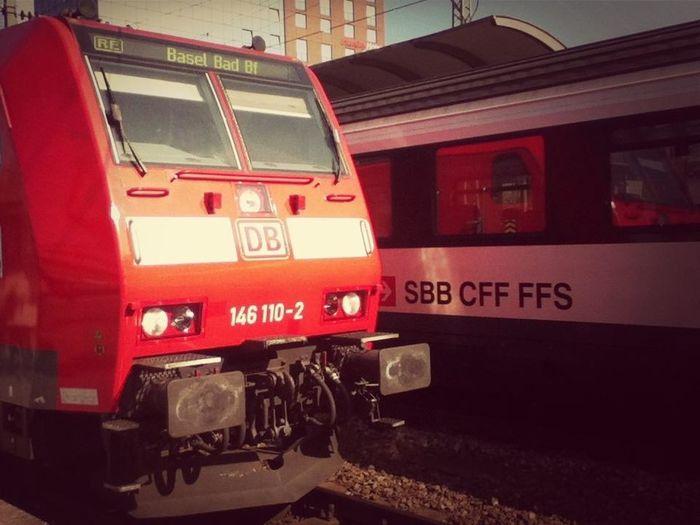 Freiburg Hauptbahnhof - Schweizer