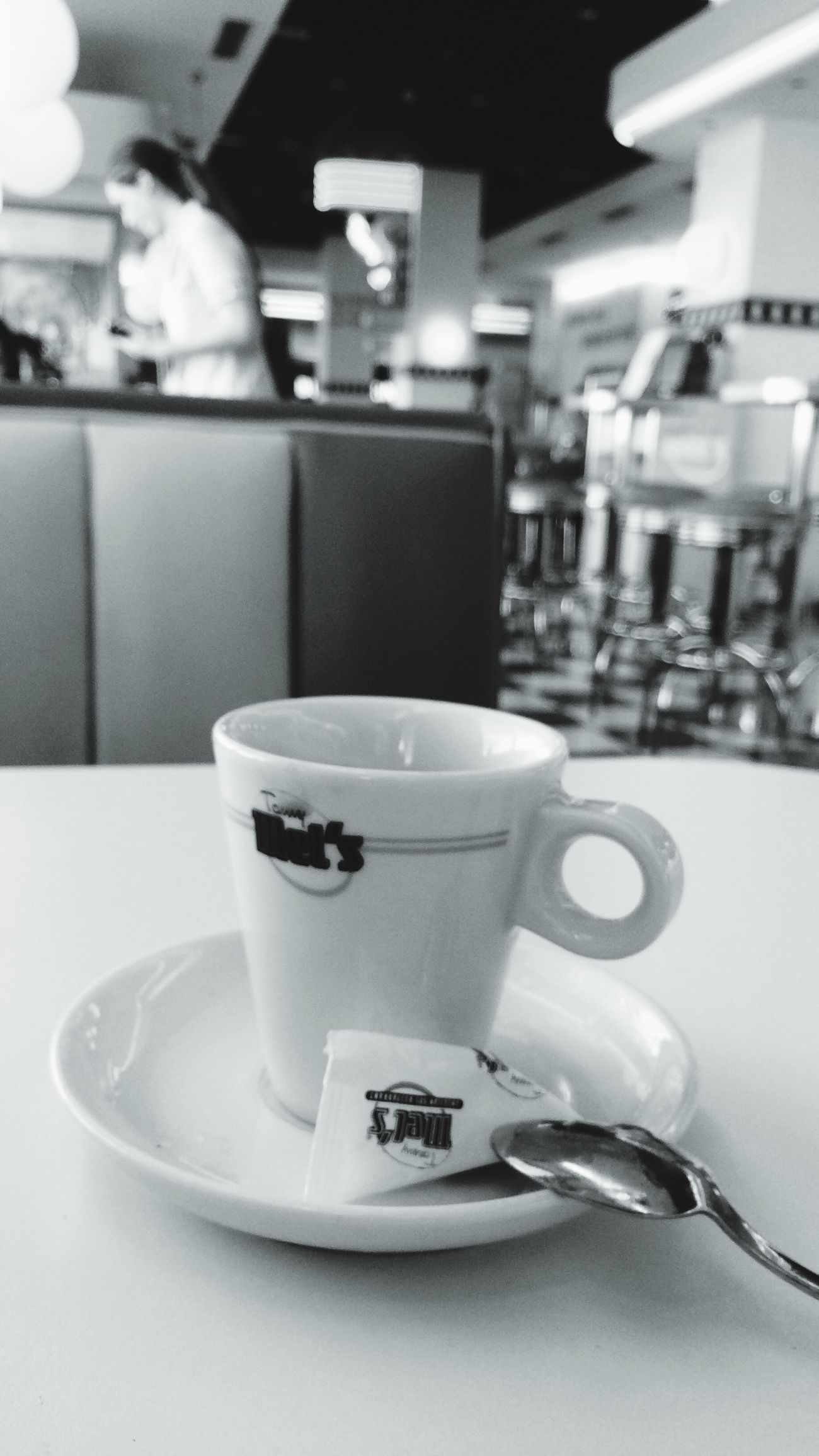Woman Coffee Women Of EyeEm Women At Work A Cup Of Coffee Tommy Mel's Black And White Sixties Style After Lunch Moments Life Time Relaxing Moments People And Places Focus Object Enjoy The New Normal Embrace Urban Life