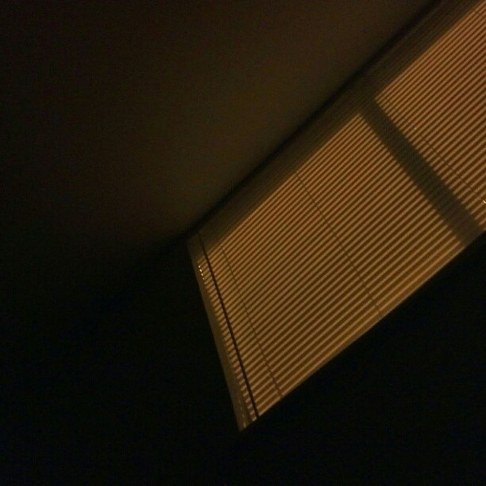 CantSleep Insomnia Satx Sanantonio window blinds orange light