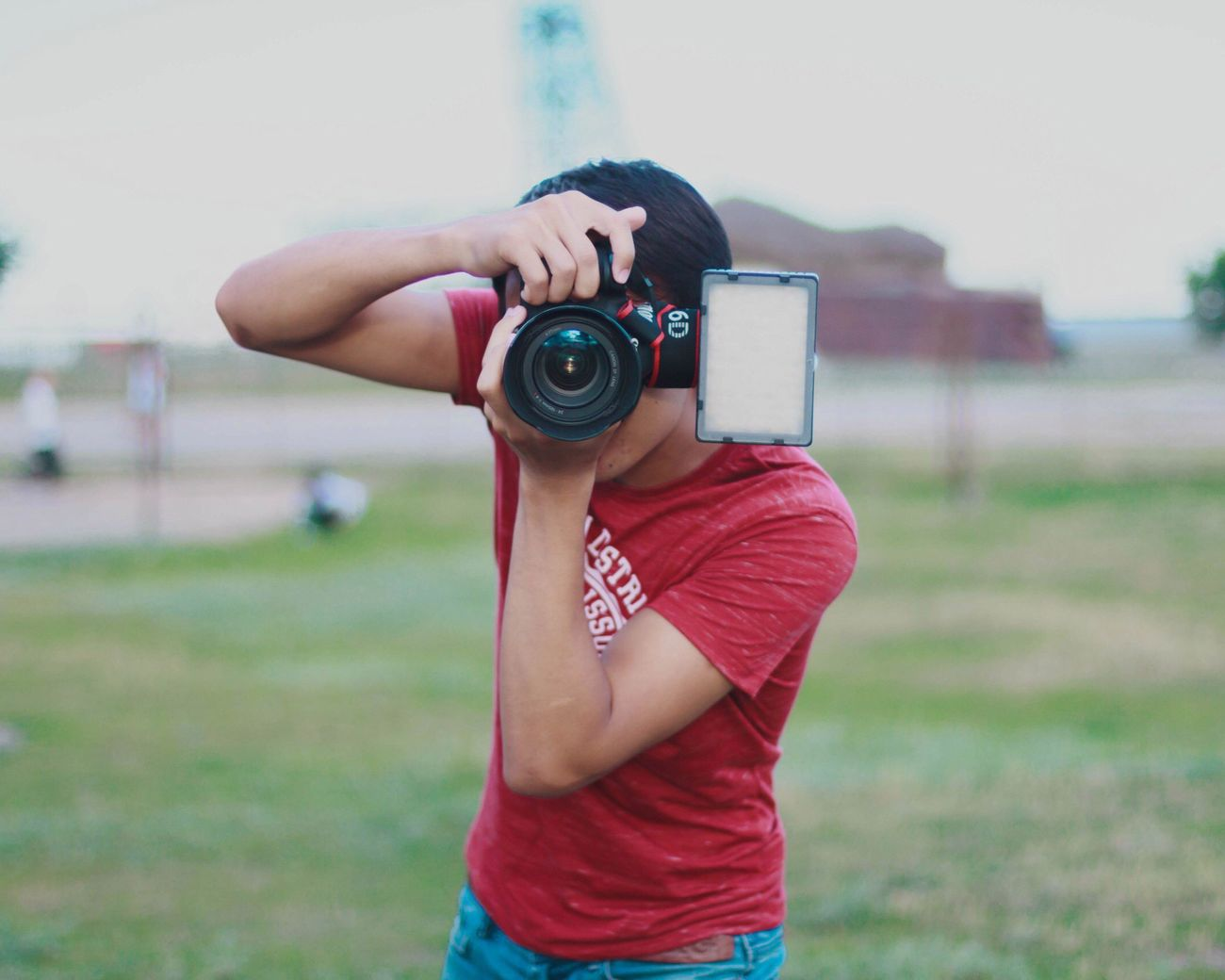 Canon photography Lifestyles Photography Person Focus On Foreground Day