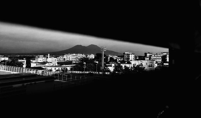 glimpse City Cityscape Residential District Outdoors First Eyeem Photo Naples, Italy Blackandwhite
