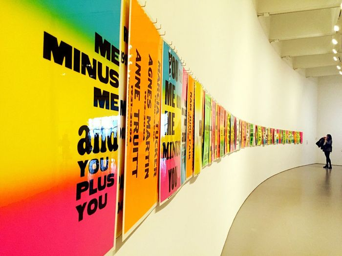 You Signs Art Gallery Hirshhorn  Check This Out The Weekend On EyeEm People Photography Washington DC Walls Words Art Installation Art Exhibition