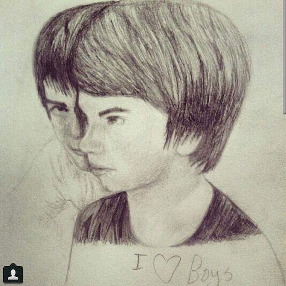 drew my friends Gavinisgay Swag Drawing
